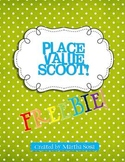 Place Value Scoot Game FREEBIE