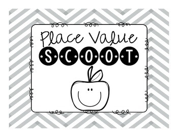 Place Value Scoot Standard Form, Expanded Form, Word Form