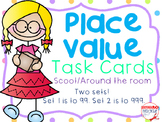 Place Value Scoot-Two Sets-