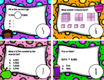 Place Value Scoot VA SOL 3.1