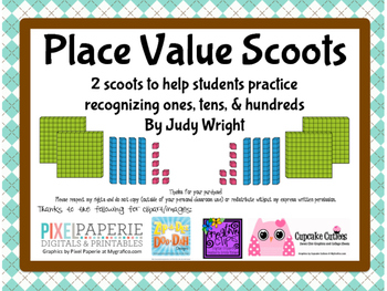 Place Value Scoots: Hundreds, Tens, and Ones