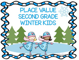 "Place Value ""Winter Kids"" (Math Center)"
