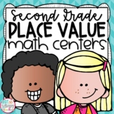 Place Value Second Grade Math Centers