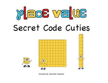 Place Value Secret Code Cuties