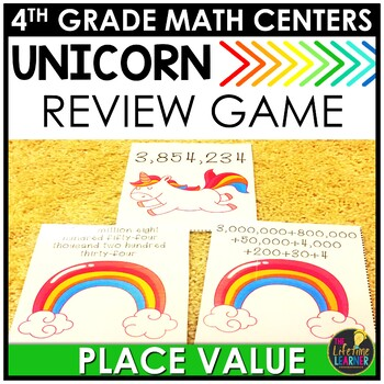 Fall Place Value Game