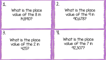 Place Value Shazam Game