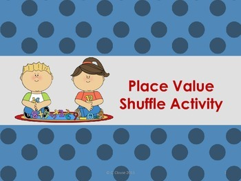 Place Value Shuffle - Hundreds through Millions