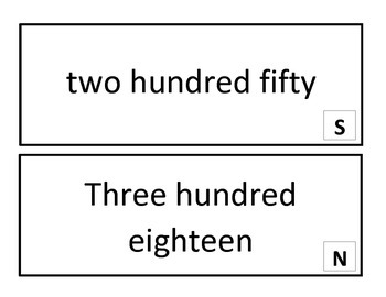 Place Value Silly Scoot for Common Core