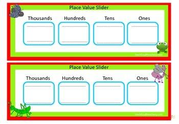 Place Value Slider