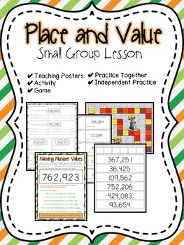 Place & Value Small Group Lesson