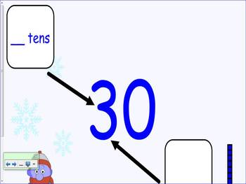 Place Value Smart Board Lesson First Grade