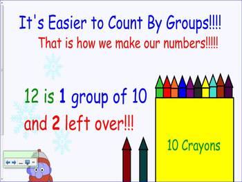 Place Value Smart Board Lesson First Grade