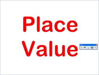 Place Value Smartboard Activity