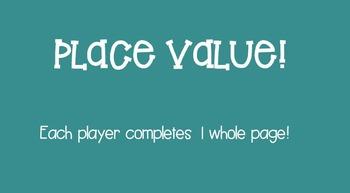 Place Value Smartboard Game