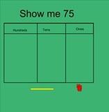 Place Value Smartboard Lesson for First Grade Math Common Core