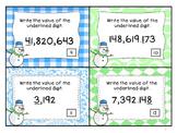 Place Value Snowman