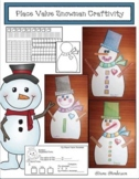 "Snowman Activities: ""Place Value Snowman Craft"" (Great Mat"