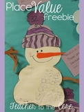 Place Value Snowman {Smart Art Freebie}