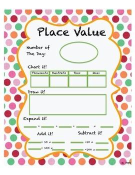Place Value Solve it!