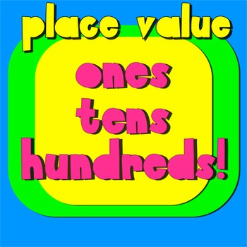 Place Value Song- ones, tens, hundreds- music video