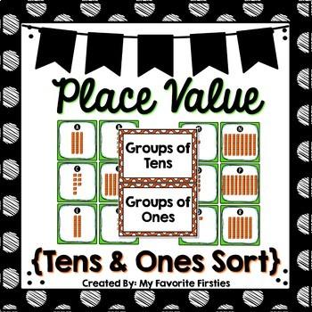 Place Value - 10s & 1s Base Ten Block Center