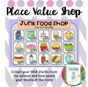 Place Value Shop