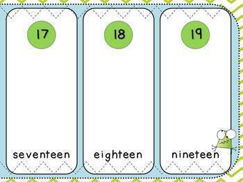 Place Value Sort-Pack 7 (Kindergarten-K.NBT.1)
