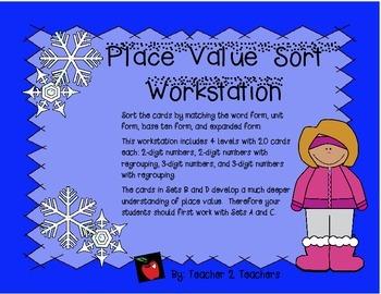 Place Value Sort Workstation