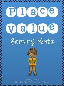 Place Value Sorting Mats