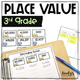 Place Value Sorts - Value of the Underlined Digit