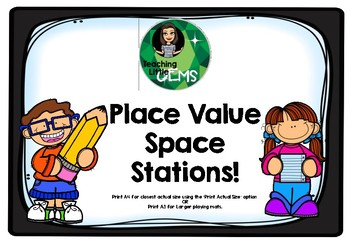 Place Value Space Stations