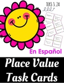 Place Value - Spanish - Valor de Posicion - TEKS 3.2A - Dual Language - Set 1