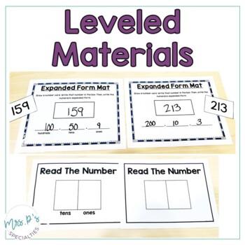 Place Value  (Special Education Math Unit)