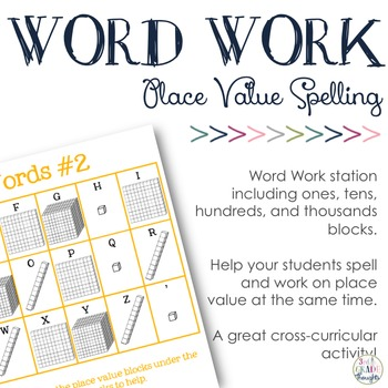 Place Value Spelling #2 {Ones, Tens, Hundreds & Thousands}