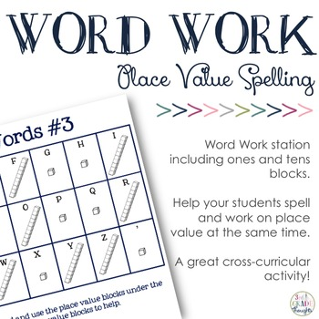 Place Value Spelling #3 {Ones & Tens}