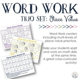 Place Value Spelling {Trio Set}