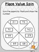 Place Value Spin Activity (First Grade, 1.NBT.2)