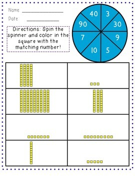 Place Value Spin It!