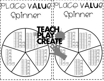 Place Value Spin and Add II