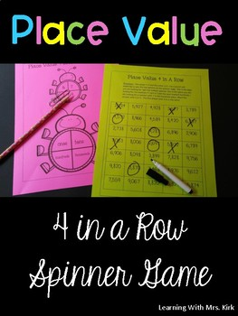 Place Value Spinner Game