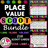 Place Value Spiral Review Scoot CCSS 4.NBT.2