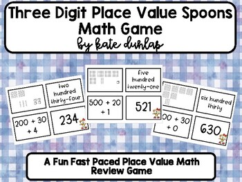 Place Value Spoons