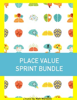 Sprint Fluency - Place Value & Decimal Bundle