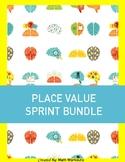 Sprint Fluency - Place Value & Decimal Bundle