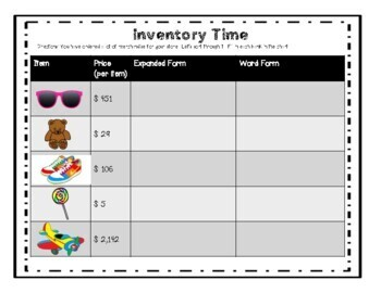 Place Value: Standard, Expanded, Written Form, Rounding & Comparing