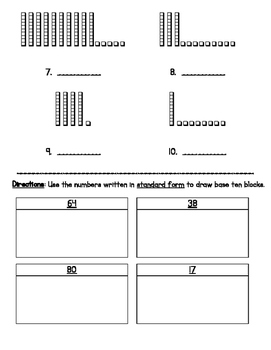 Place Value: Standard, Expanded and Word Form (2, 3 and 4-digit numbers)