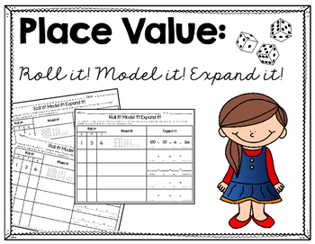 Place Value- Standard Form, Base Ten Model, and Expanded Form