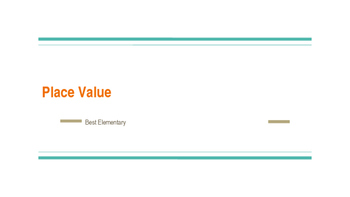 Place Value: Standard Form and Expanded Form Introduction