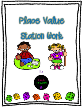 Place Value Station Work