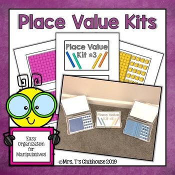Place Value Storage Kits